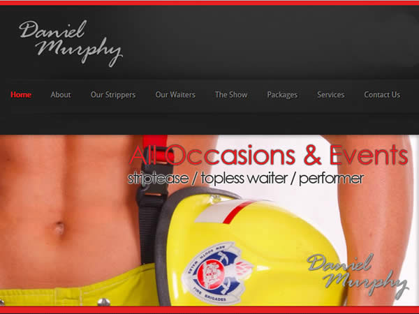 Male Strippers Sydney Website