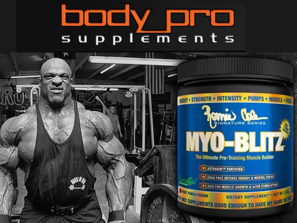 Bodypro Supplements Website